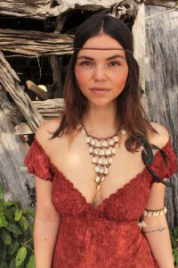 Hippie Boho Triangle Collar Choker Necklace