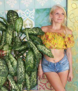Hippie Sommer Batik Top