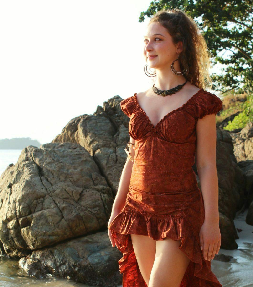online retailer 32aef 45288 Batik Hippie Baumwoll Kleid