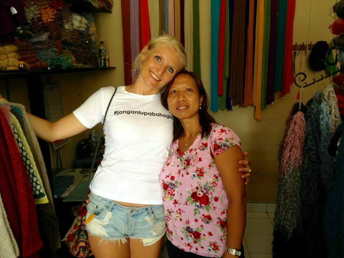 Faire Hippie Mode Kleidung aus Bali