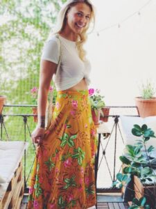 Wrap Skirt Street style