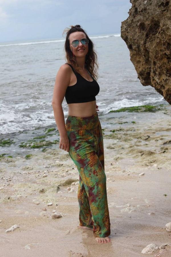 Batik Hippie Hose aus Stoff Festival Style Hippie Hose