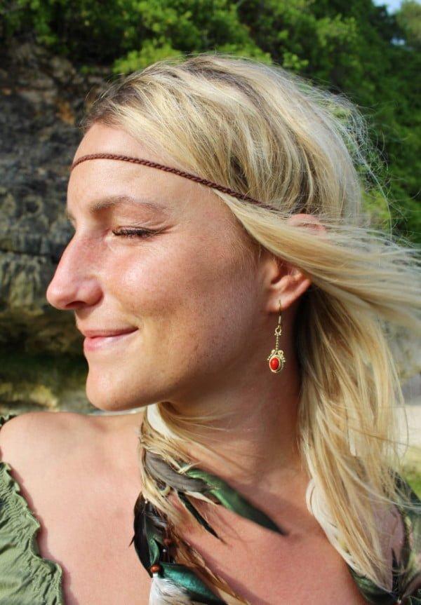 Ohrringe Brass Boho Hippie