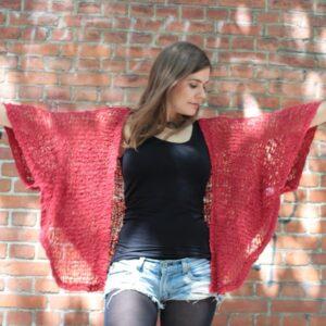 Hippie Bohemian Crochet Cardigan