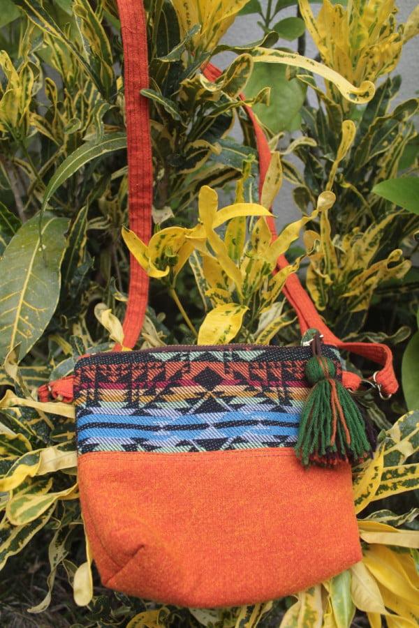Hippie Partytasche Umhängetasche Baumwolle Ethno Folklore Tasche