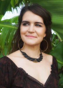 Gypsy Sommer Baumwoll Batik Crop Top Braun Fesitival Hippie Off Shoulder Crop Top
