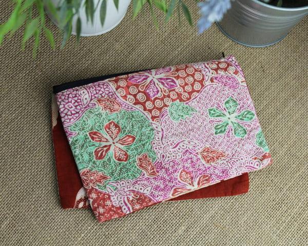 Handmade Baumwoll Make Up Tasche Schmucktasche Kulturbeutel