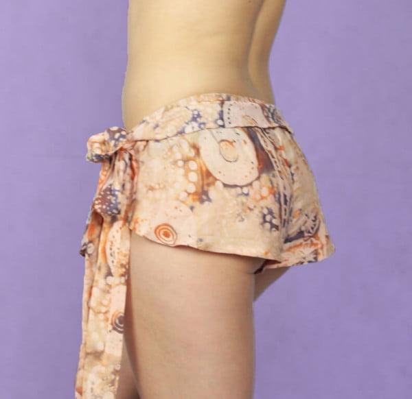Sexy Sommer Strand Hot Pants Batik