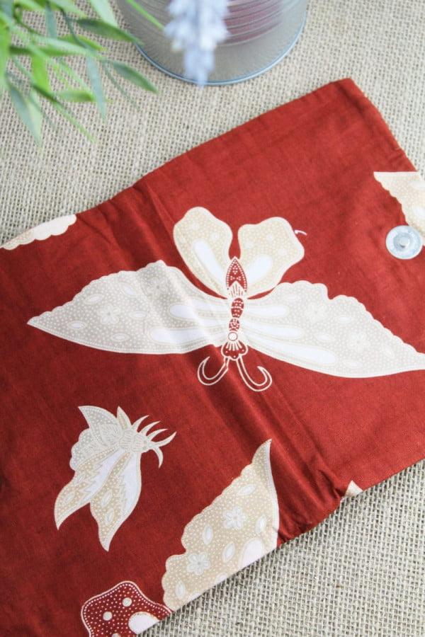 Handmade Baumwoll Make Up Tasche Schmucktasche Kulturbeutel Reise Tasche