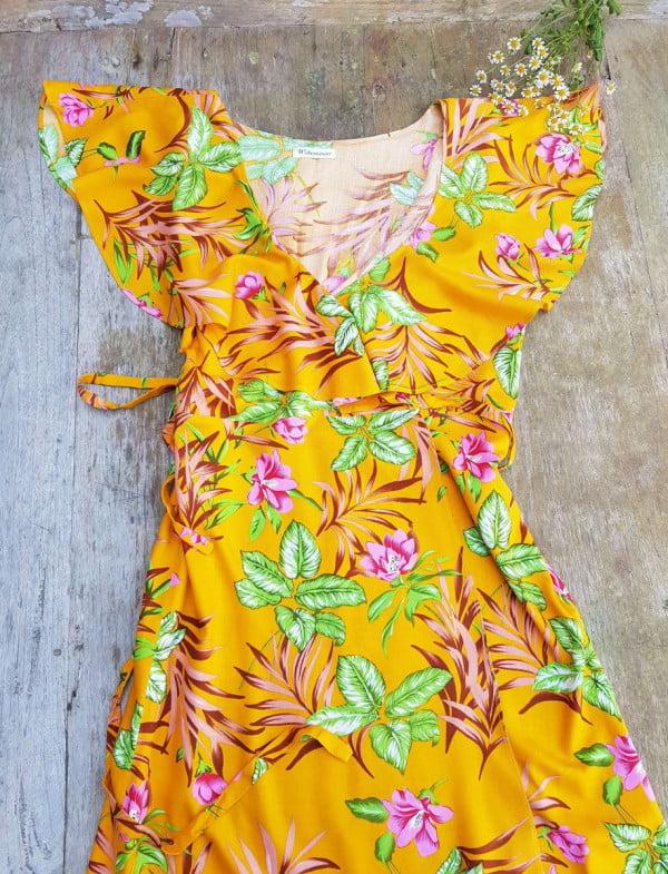Sommerkleid Hippie Blumen Style