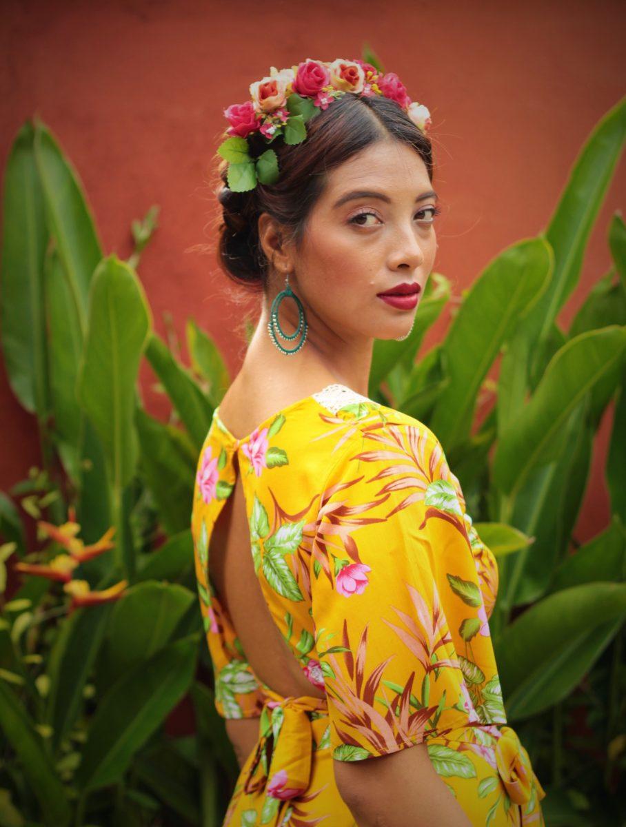 Aurora Top Glockenärmel Frida