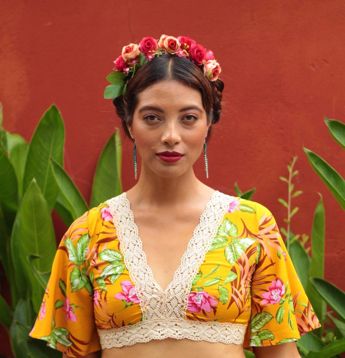 Styling inspiriert durch Frida Kahlo