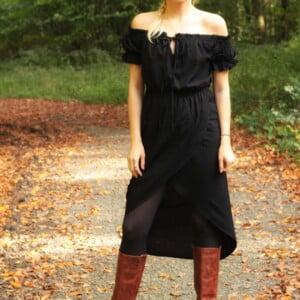 Boho Outfit Das kleine Schwarze