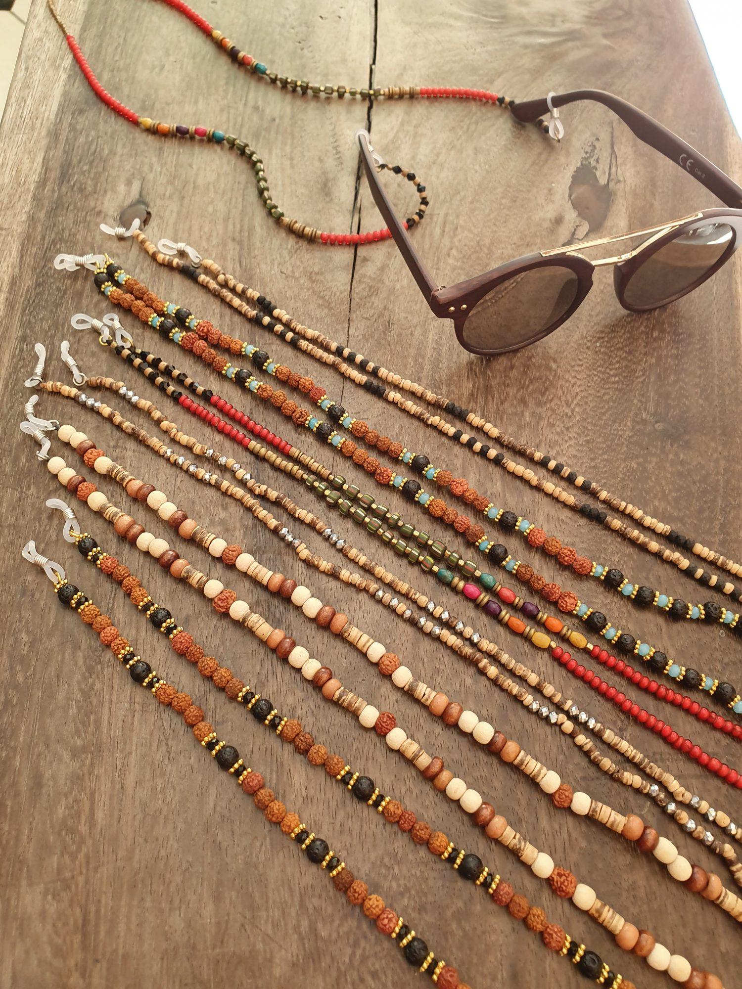 Brillenketten Boho Hippie Style