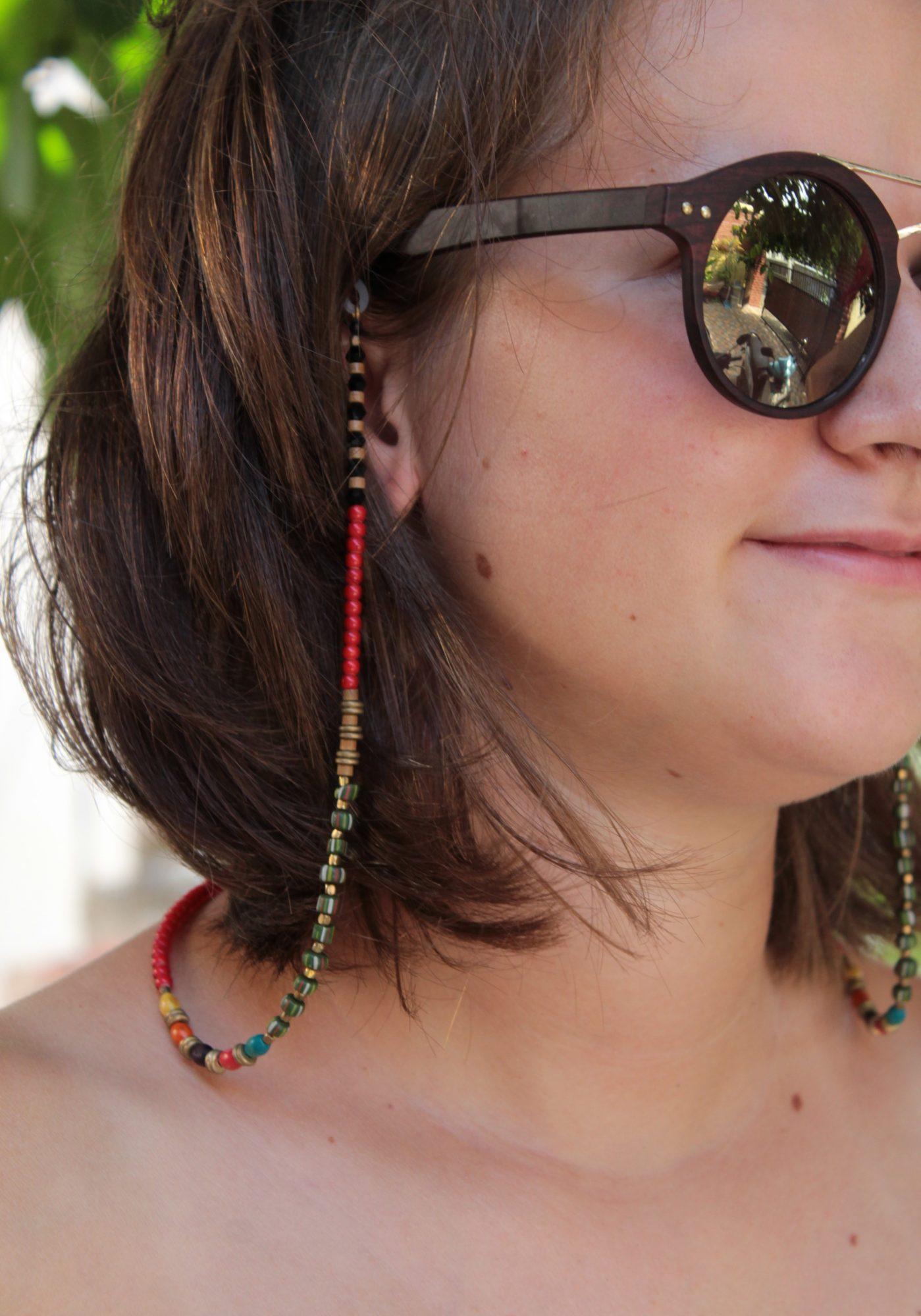 Brillenband Bunt Sommer Schmuck Accessoire