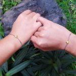 Besondere Weihnachtsgeschenke für Sie Freundinnen Armband Herz Freundschaftsarmband