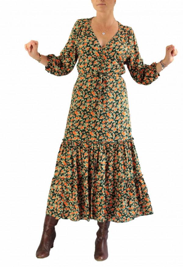 Boho Kleid Hippie Kleid Herbst Winter Boho Ibiza Outfit