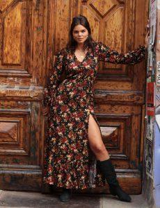 Boho Maxikleid Gypsy Style Modern Hippie Sexy Kleid