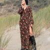 Modern Hippie Alternative Kleidung Boho Chic Kleid Lang