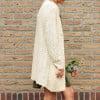 Boho Cardigan Beige Hersbt Winter Boho Hippie Kleidung (2)