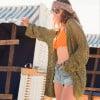 Sommer Jacke Strick Cardigan Boho Hippie Style (4)