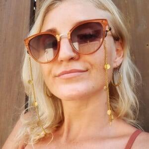 Boho Brillenband Gold Stylische Brillenketten