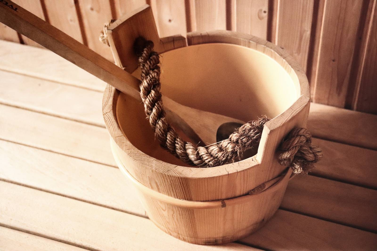 Geschenk Sauna