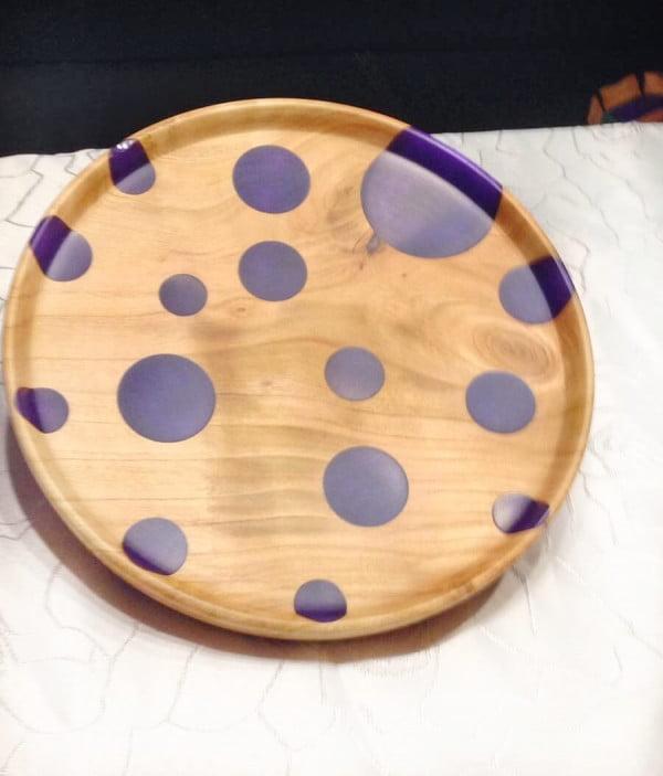 Bohemian Home Decor Wooden Bowl