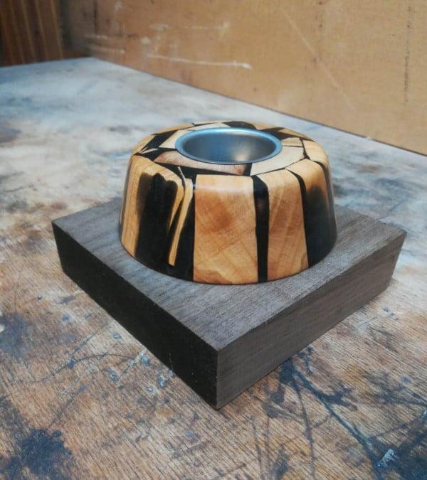 Holz Kerzenständer Teelincht
