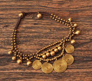 Orientalische Gypsy Fusskette - Gypsy Ibiza Style - Boho Schmuck
