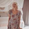 Hippie Style Dress Short Paisley Print