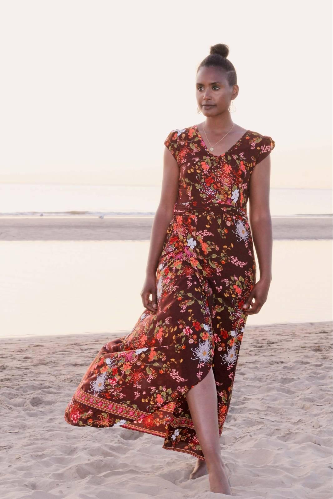 Boho Sommerkleid Blumen