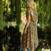 Flower dress summer dress midi Ibiza dress