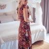 Boho Ibiza Style Gypsy Dress Brown