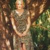 Boho summer dress flowers hippie dress