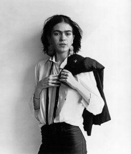 Frida in male fashion