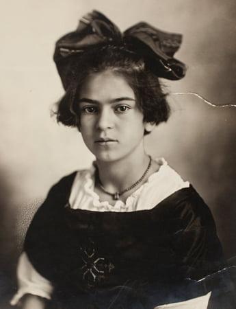 Frida Kahlo als Kind