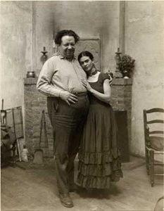 Frida Kahlo mit der Liebe ihres Lebens
