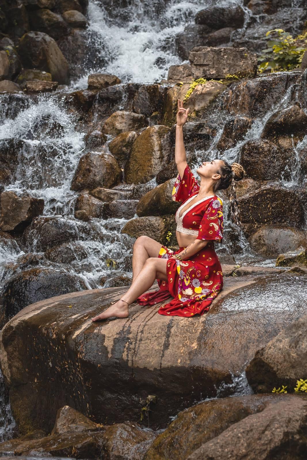 Ibiza Kleidung Boho Outfit Ibiza Style Weltentänzer Berlin Gypsy Kleid