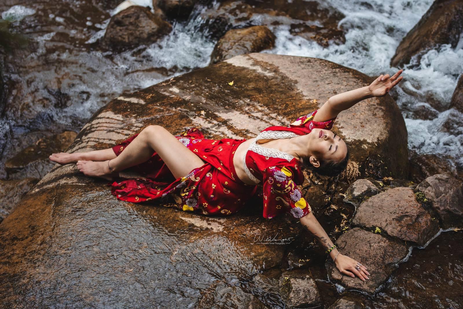 Boho Outfit Ibiza Style Weltentänzer Berlin Gypsy Kleid