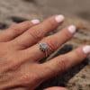 Sonnen-Ring Silber