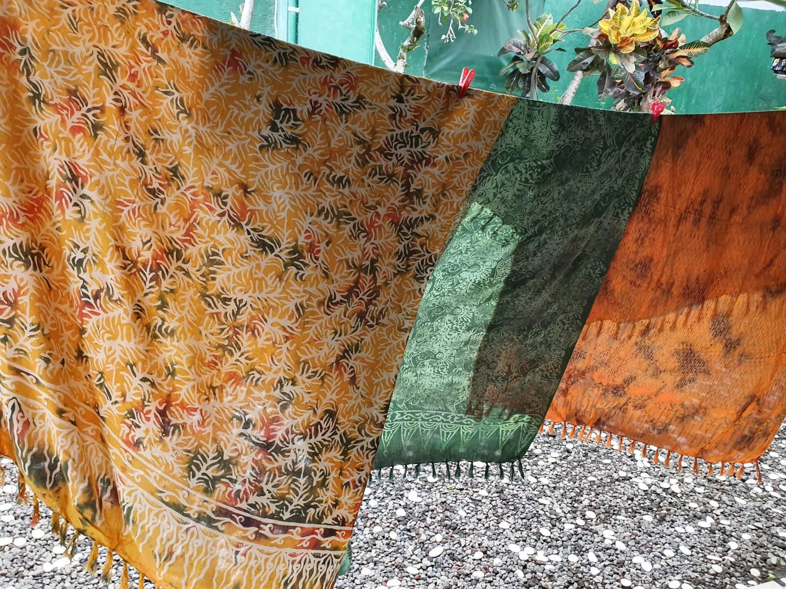 Batik Sarongs aus Bali