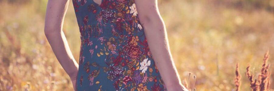 Boho Sommerkleid Rückenfrei
