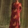 Bohemian Maxikleid mit Schlitz Ibiza Style Kleid
