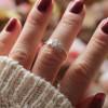 Boho Mond Ring 925 Silber
