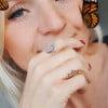 Boho Ring Statement Ring Rosenquarz (2)
