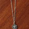 Boho Halskette 925 Silber Monde Medaillon Mondstein Witchy Schmuck (1)