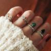 Feiner Silber Ring Mond Halbmond 925 Silber (6)
