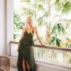Boho Sommer Kleid Zweiteilig Olivgrün Zweiteiler Kleid (8)