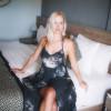 Batik Hippie Style Kleid Grau Schwarz